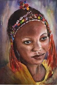 Carrie McKenzie Artist Halifax West Yorkshire watercolours