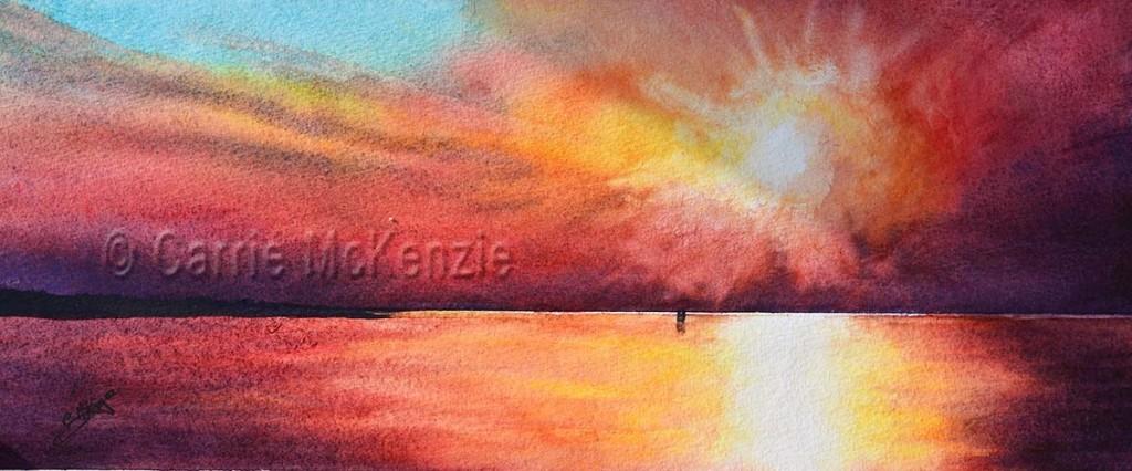 sunblaze sunset couple