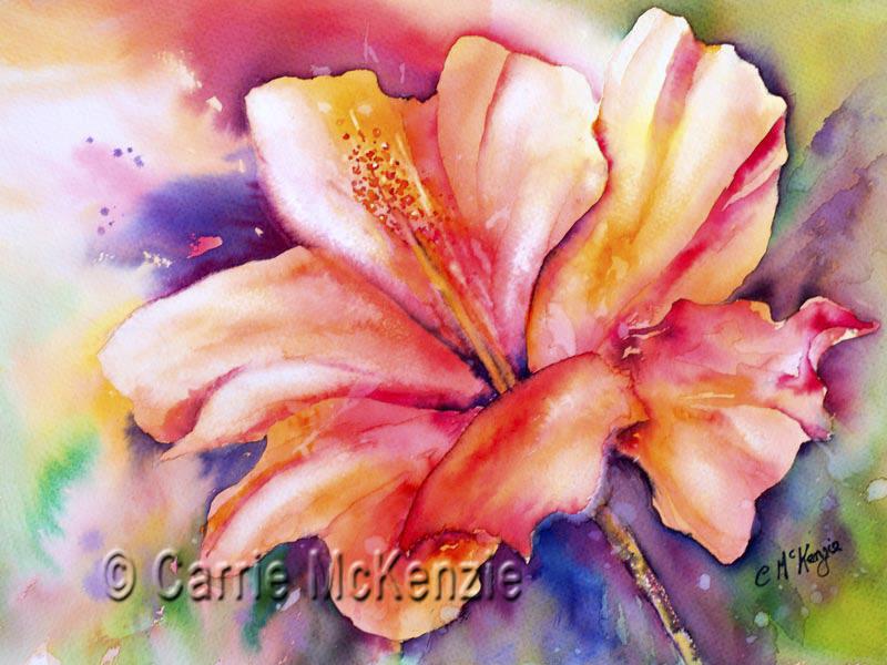 Amaryllis painting flower