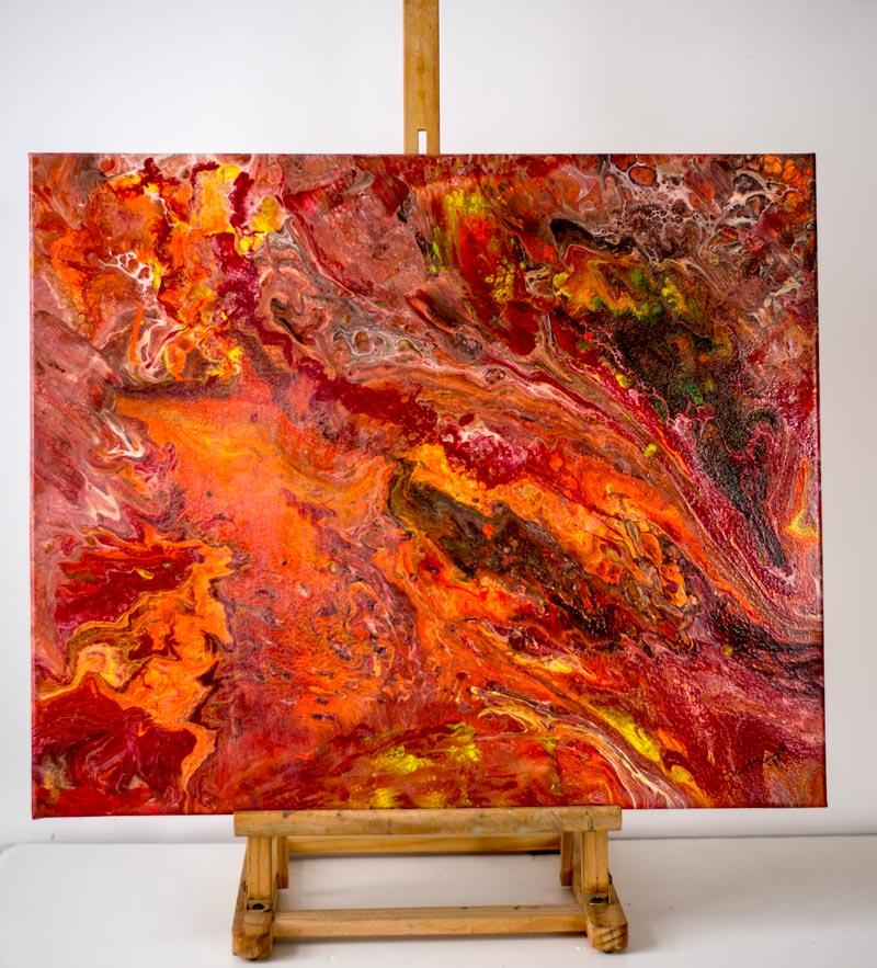 galactica, ABSTRACT, abstract art, art, abstract painting, absract acyrlic, purple, pink