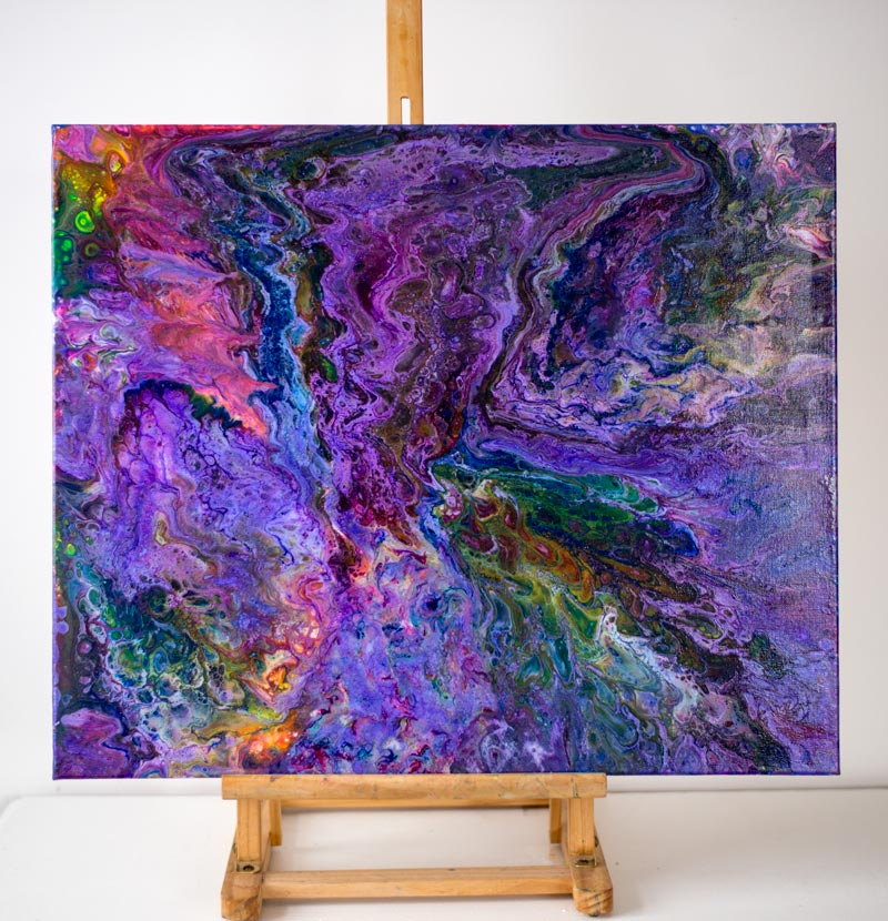 KALEIDOSCOPE, ABSTRACT, abstract art, art, abstract painting, absract acyrlic, purple, pink