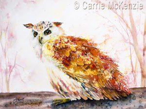 OWL BRUSHO, OWL PAINTING