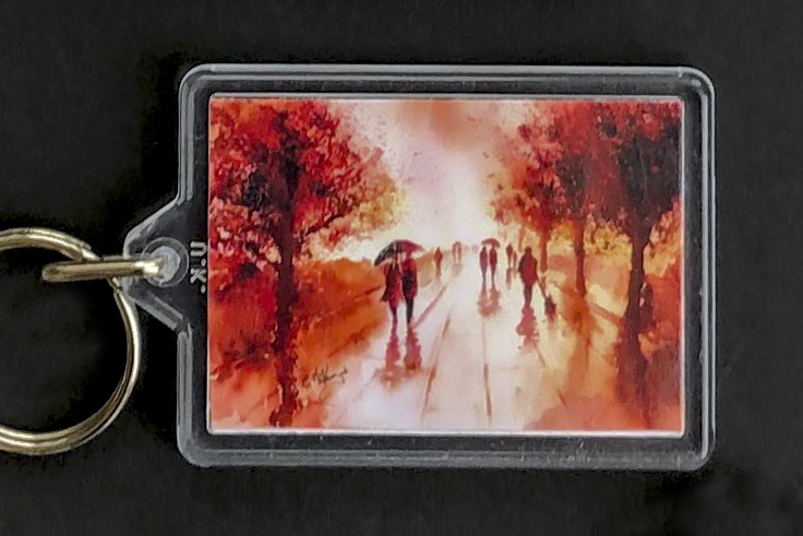 KEY RINGS, KEY, ART, PAINTING, LIFESTYLE, PRODUCTS